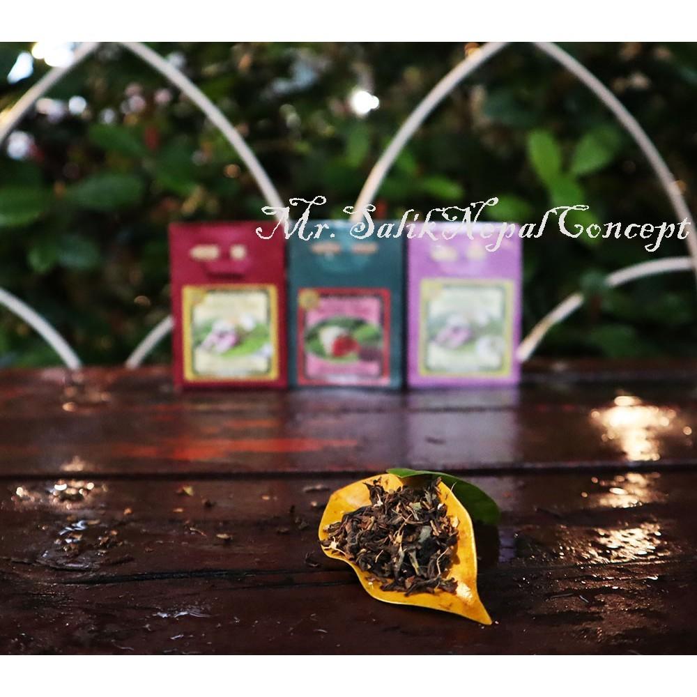 尼泊爾手工紙盒包裝 茶葉 [ 玫瑰花茶 苿莉花茶 檸檬茶 風味茶 ]