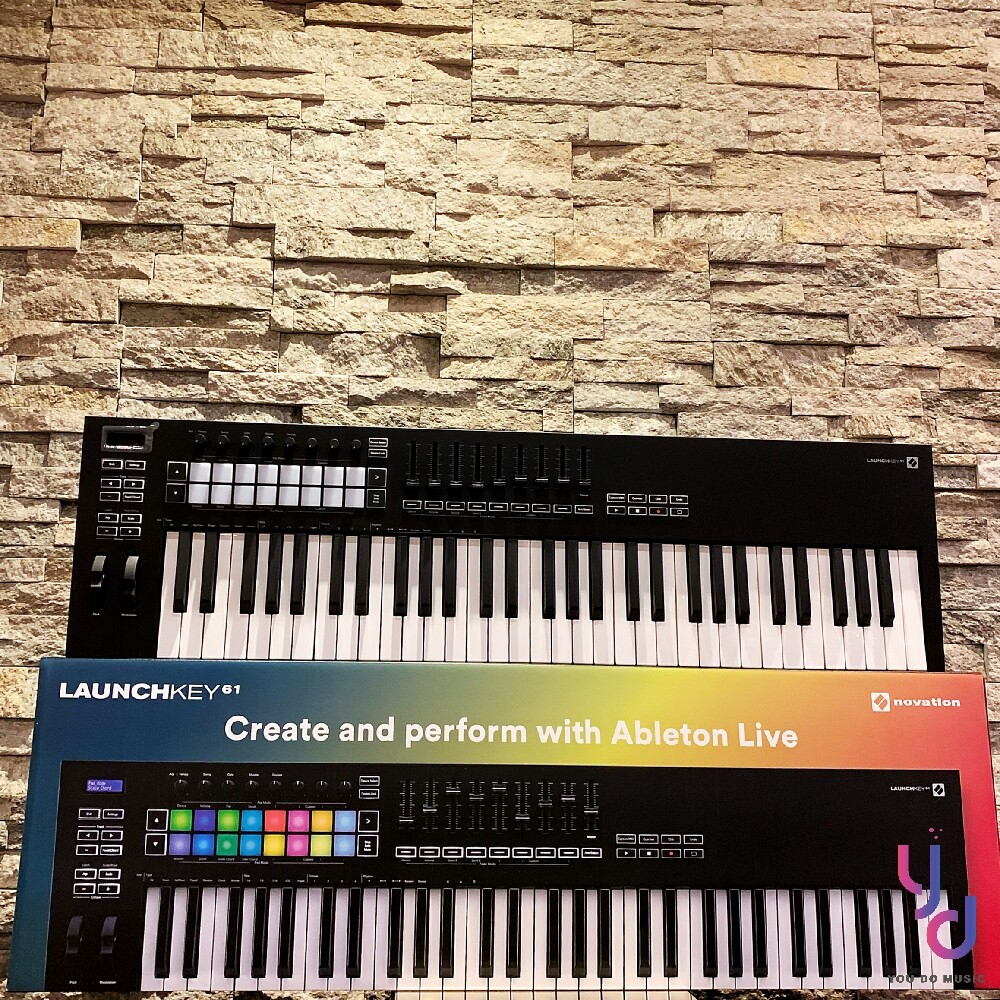 (贈音源軟體) novation launchkey 61 mk3 mkiii 主控 midi 鍵盤