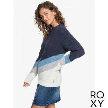 【ROXY】OPEN DOOR 針織毛線衣 海軍藍