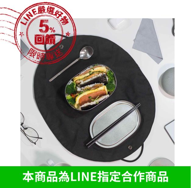 小體積大容量*【 Bendong 】 食尚便當組 (便當盒+承食包)