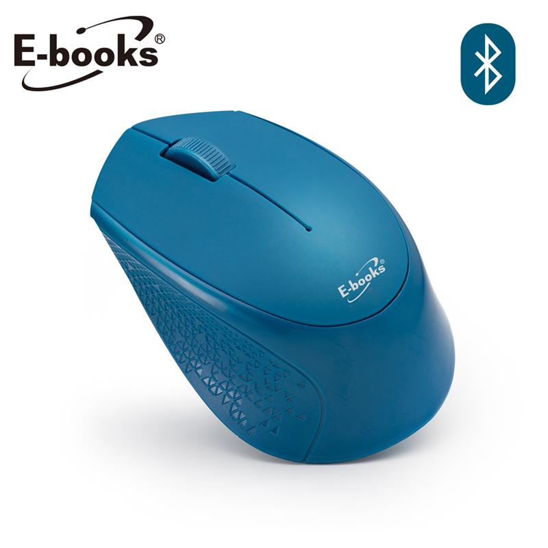 【E-books】M60 藍牙三鍵式超靜音無線滑鼠-藍