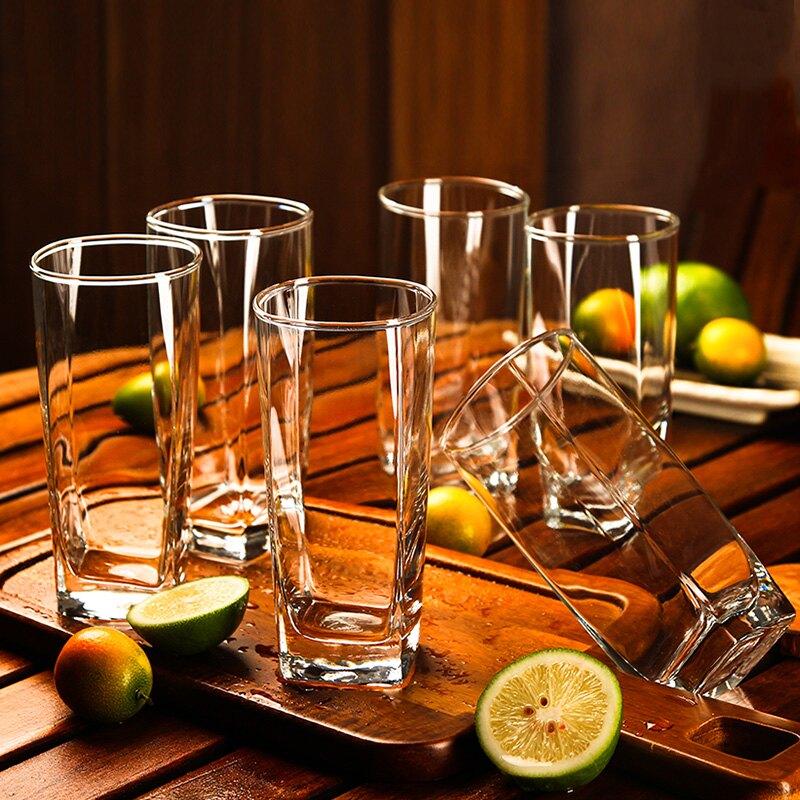 Ocean進口玻璃杯家用耐熱簡約透明客廳