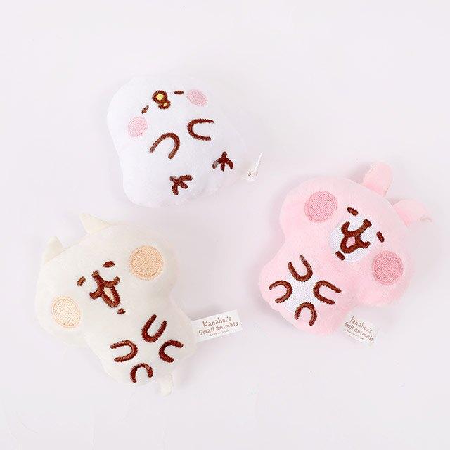 Kanahei磁貼娃娃3吋- Norns 卡娜赫拉小動物正版授權 兔兔 P助 絨毛玩偶吊飾