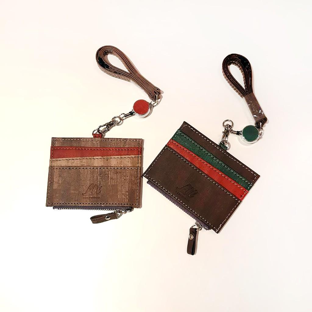 L.T.L Craftsman樹紋個性證件套-橫式-可伸縮-共二色【覓品】