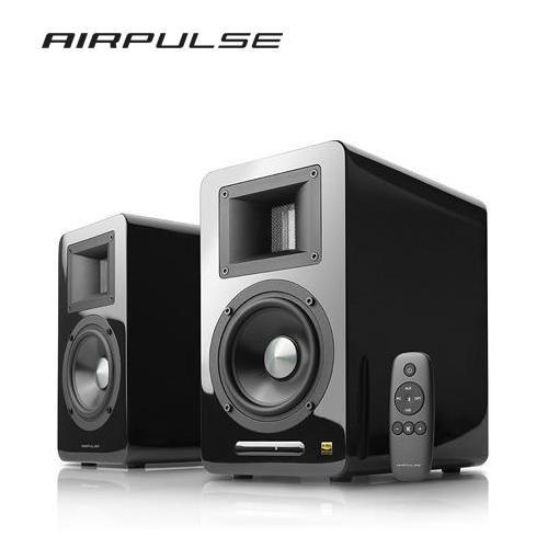 [ 華星音響] EDIFIER AIRPULSE A100 聲道 2聲道系統 ,藍芽喇叭 -鋼烤黑-免運可分期實施中