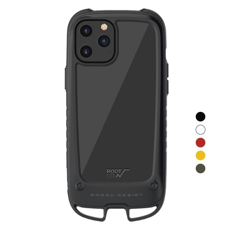 iPhone 12 Pro Max Gravity Hold. 雙掛勾式軍規防摔手機保護殼 - 共五色 紅色