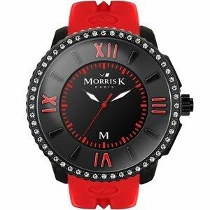 MORRIS K「獨一無二」晶鑽限量錶(中/紅) MK10205-CM01