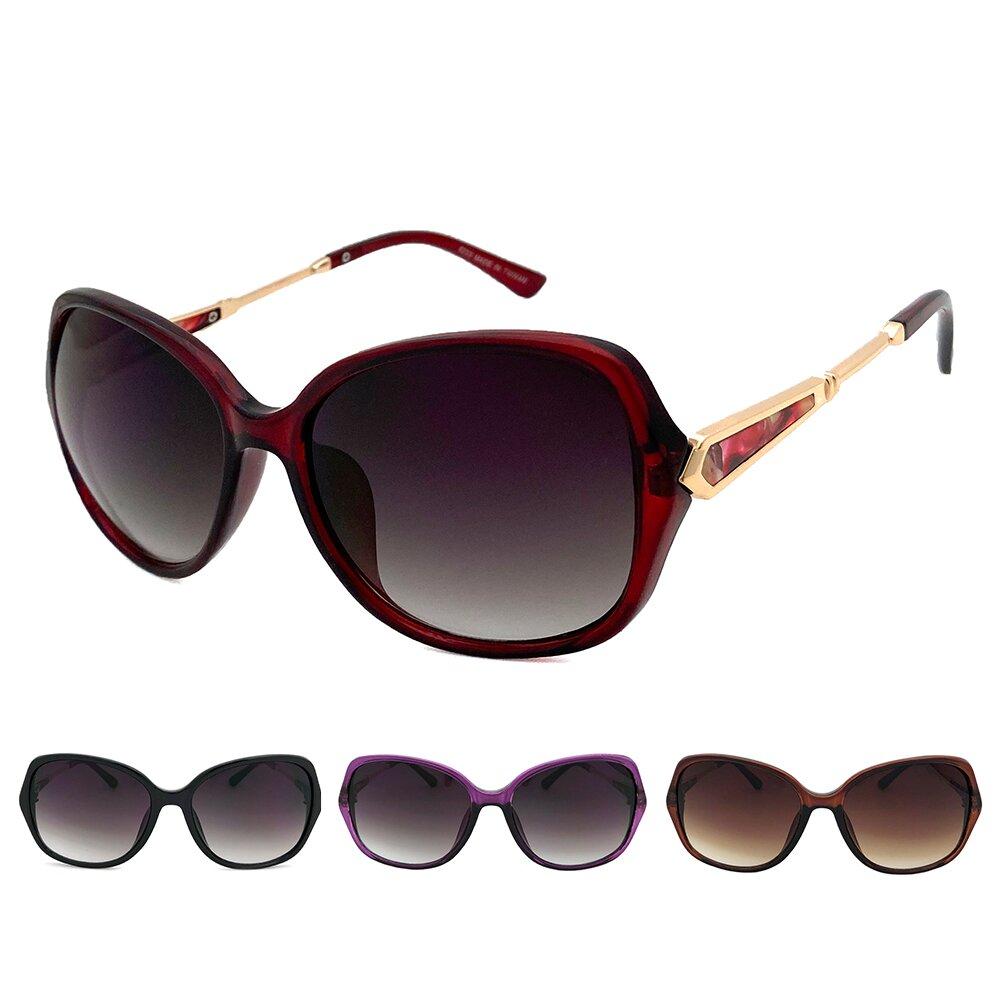 MIT淑女墨鏡 PC防爆鏡片 大理石圖樣 太陽眼鏡 抗UV