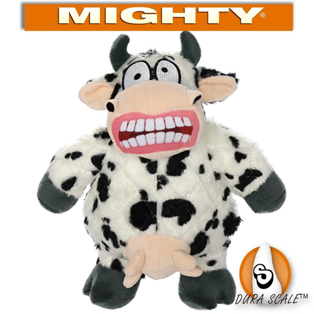 【TUFFY-狗玩具】MIGHTY 憤怒動物系列:大嘴牛(大)(小)