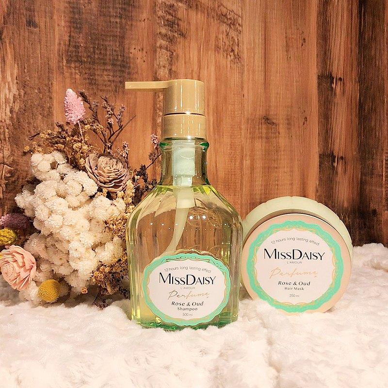 法式香氛洗髮組-保加利亞玫瑰與烏木 贈旅行組-黑醋栗與香草蜜糖