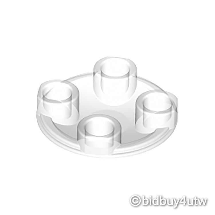 LEGO零件 圓形平板 2654 透明色 4278412【必買站】樂高零件