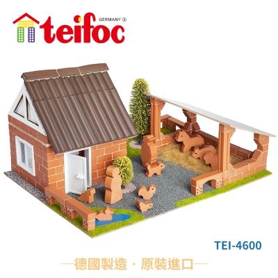 德國teifoc益智磚塊建築玩具-TEI4600