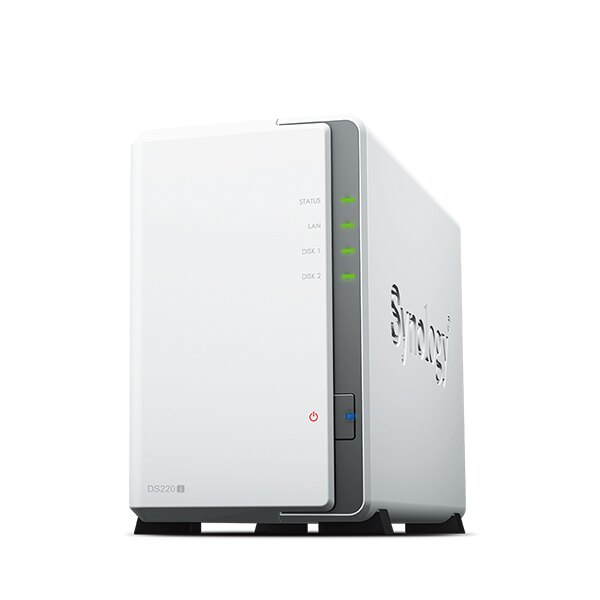 【高點數回饋】Synology 群暉科技 DiskStation DS220j 2Bay NAS
