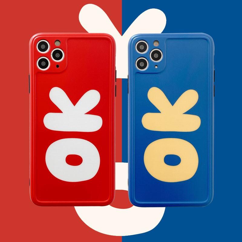 【優質現貨】潮牌簡約英文字母適用11Pro/Max蘋果X/XS/XR/SE手機殼iPhone7p女8plus硅膠情侶個性