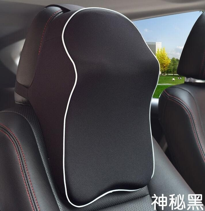 限時降價-汽車頭枕車用護頸枕靠枕記憶棉頸枕車內用品座椅頸枕車載四季頭枕