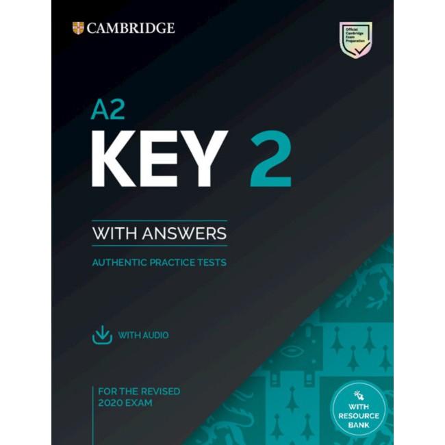 【華泰劍橋】A2 Key 2 官方全真考題本 with answers with audio with Resource