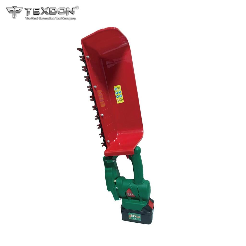 [採茶機推薦]得世噸TEXDON 鋰電採茶機 21V 手提採茶機 330mm 270mm 採茶機 修籬機 割草機 修草