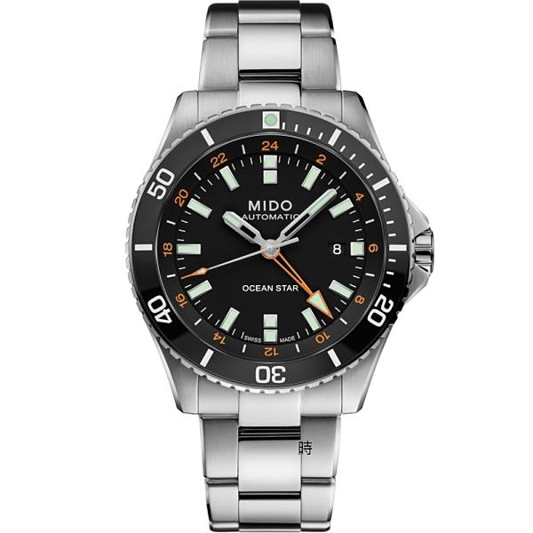 MIDO美度 M0266291105101 海洋之星 GMT潛水機械錶