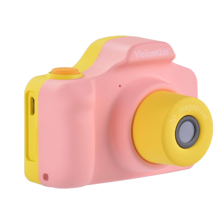 日本 VISIONKIDS - Happicamu Pro 3000萬像素兒童數位相機-粉色
