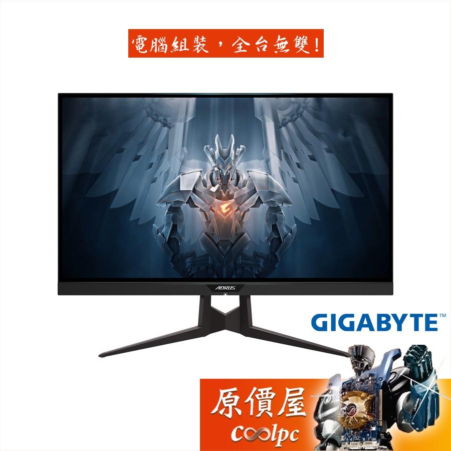 GIGABYTE技嘉 FI27Q (2H1P/1ms/IPS/165Hz/FreeSync/三年保固/螢幕/原價屋