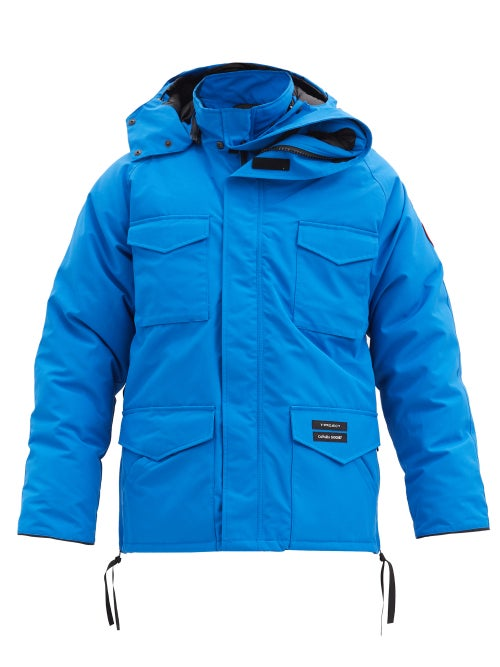 Y/Project - X Canada Goose Constable Hooded Down Parka - Mens - Blue