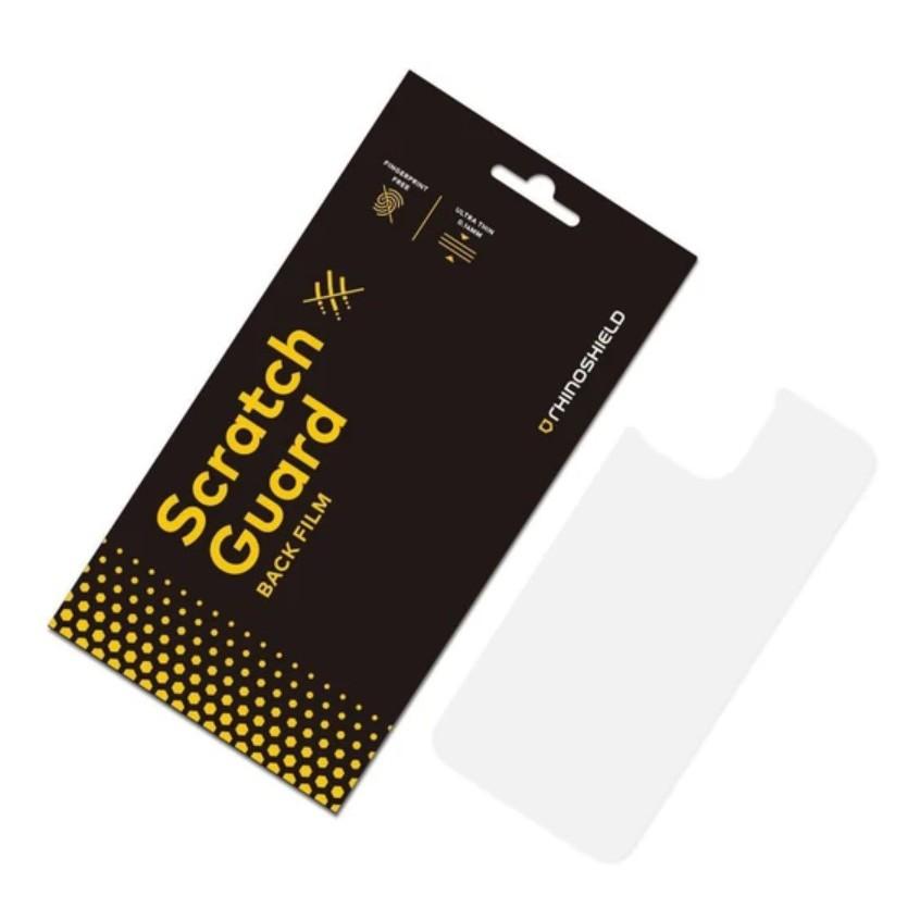 犀牛盾 iPhone 12 12Pro 12Mini 12ProMax 系列 非滿版防刮透明背面保護貼 防刮