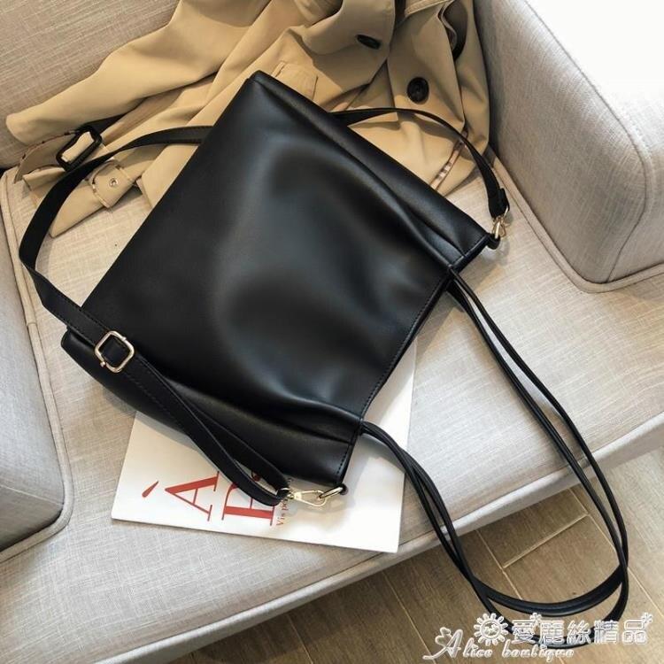 手提包 包包女大容量側背包2020新款潮韓版百搭斜背包學生手提女包托特包