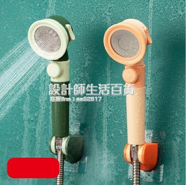 淋浴增壓花灑噴頭家用超強加壓熱水器單頭衛生間套裝大出水蓮蓬頭 NMS設計師