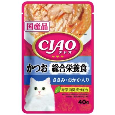 CIAO 巧餐包系列-鰹魚綜合營養食(40g/包x16包)