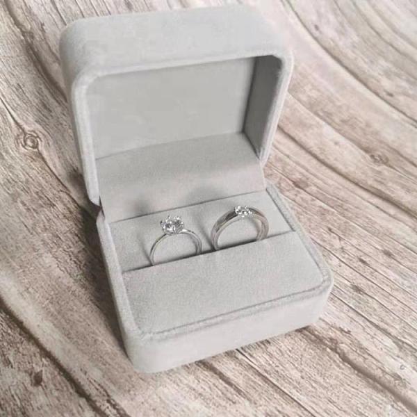 結婚對戒仿真一對求婚現場用的道具婚禮交換儀式情侶款假鉆石戒指 【端午節特惠】