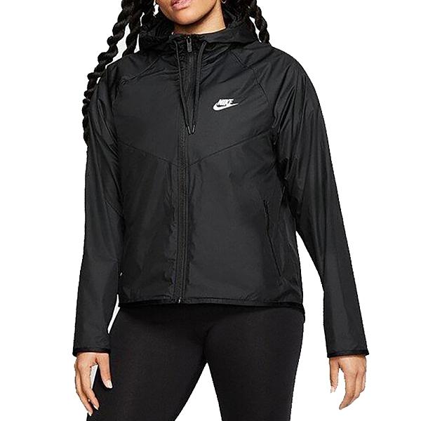 NIKE AS W NSW WR JKT 女款運動休閒健身慢跑風衣外套黑 BV3940010