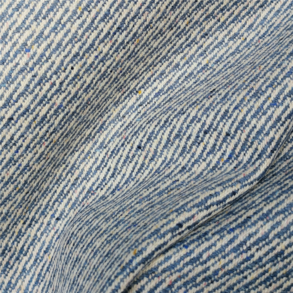 Magee 1866 Limited Edition - Blue Interrupted Twill Tweed - Metre