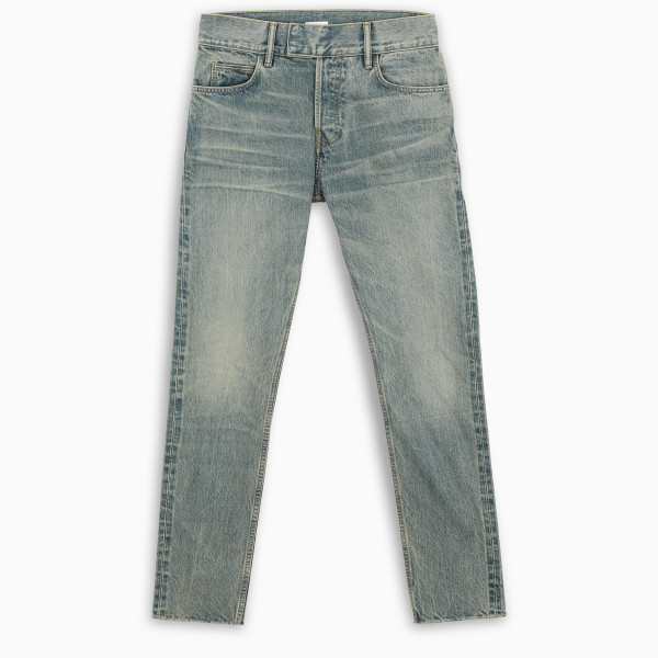 FEAROFGODZEGNA Slim faded effect jeans