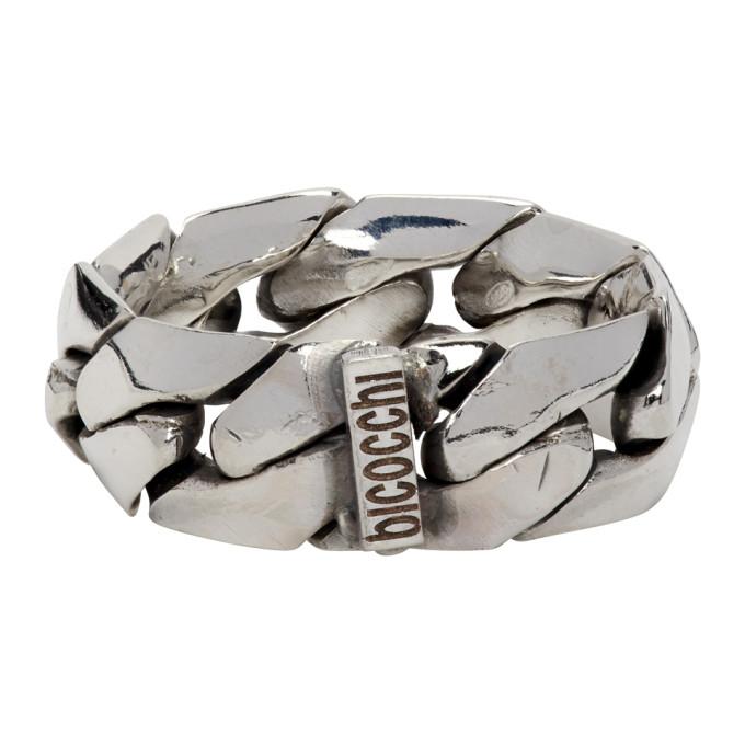 Emanuele Bicocchi 银色 Soft Chain 戒指