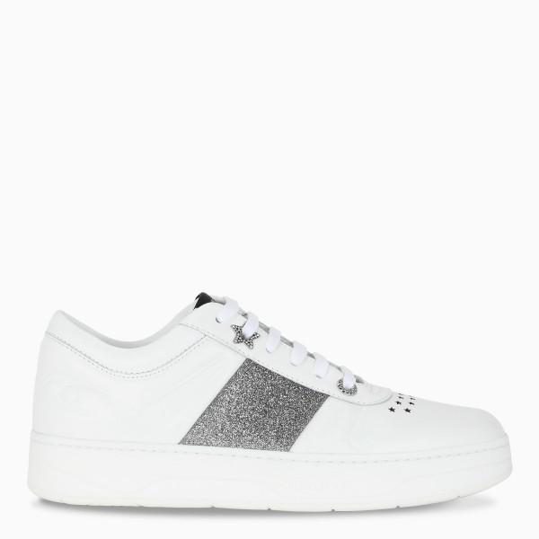 Jimmy Choo White Hawaii F sneakers