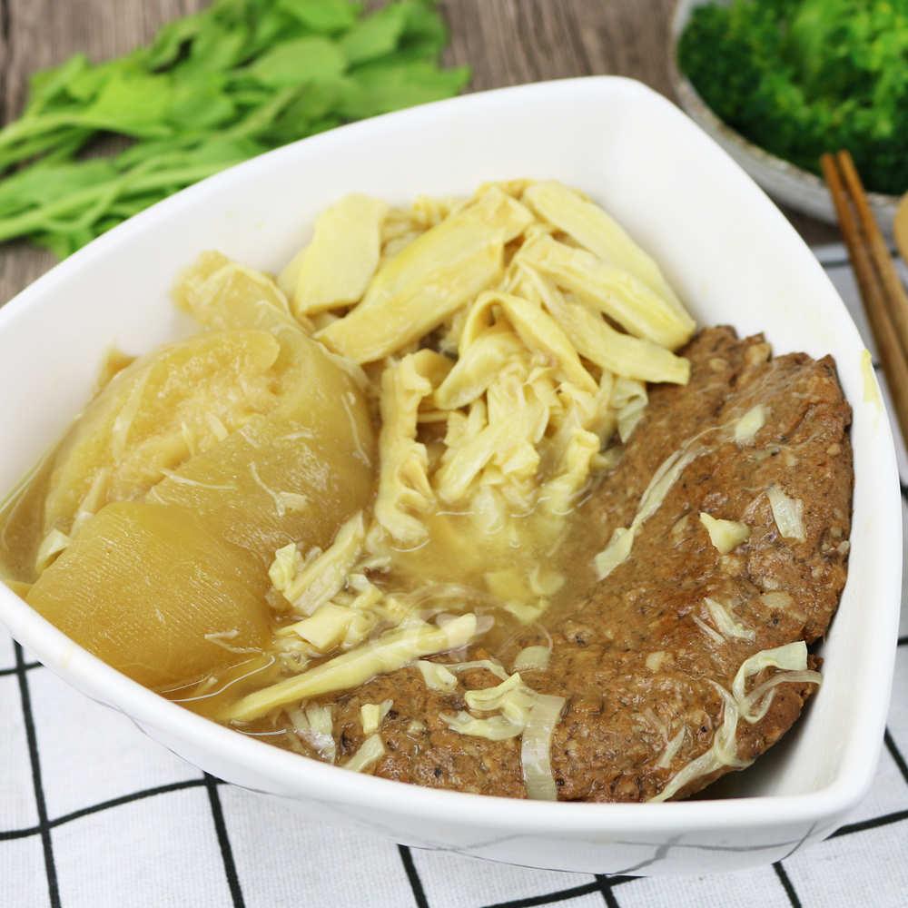 現+預【高興宴】素人上菜-醬香筍絲冬瓜控肉1200g(蛋奶素)(適合5-7人份)