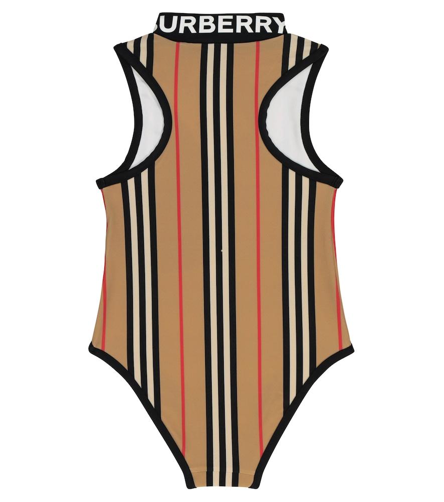 Icon Stripe swimsuit