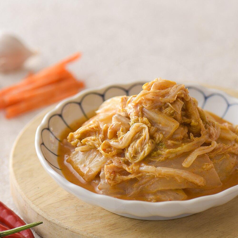 胡麻泡菜 (420公克/瓶) 協發行泡菜