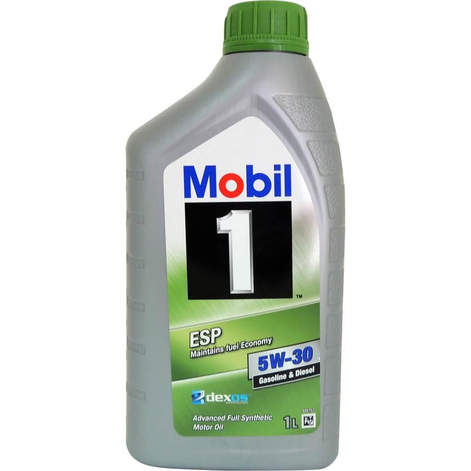 Mobil 1™ ESP 5W-30 全合成汽柴油引擎機油 平行輸入