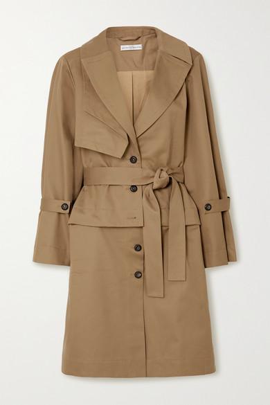 palmer//harding - Cebus 多种穿法纯棉卡其布风衣 - 黄褐色 - UK14