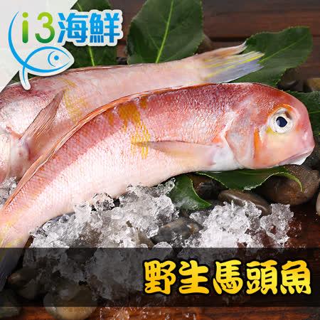 【愛上海鮮】野生美味馬頭魚12包組(320g±10%/包/兩尾/包)