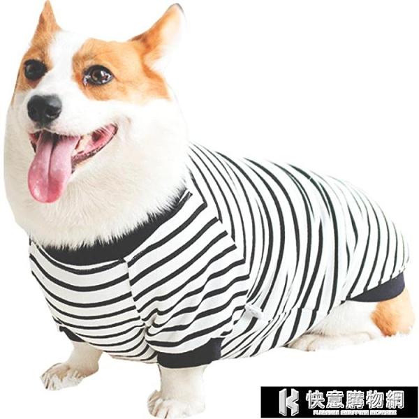 寵物衣服系列 柯基衣服狗狗秋裝泰迪柴犬秋季專用小型犬中型犬幼犬寵物秋冬 快意購物網