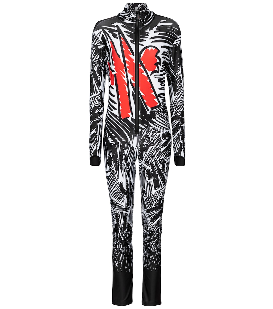 3 MONCLER GRENOBLE Printed ski suit