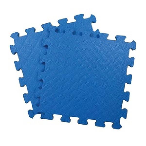 特力屋EVA安全地墊1坪(4包)-36片-藍色