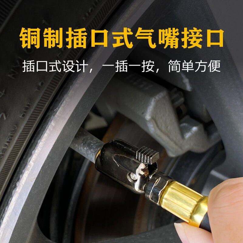 胎壓計 氣壓表胎壓表高精度汽車輪胎壓監測器帶充氣頭計數顯加氣打氣槍【MJ377】