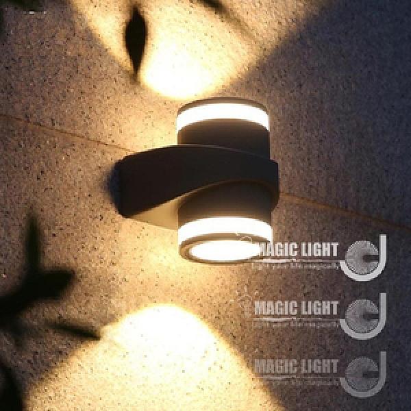 【光的魔法師】LED防水戶外壁燈 上下照
