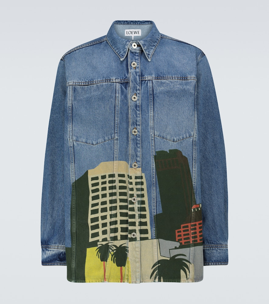 LOEWE Ken Price LA Series denim overshirt