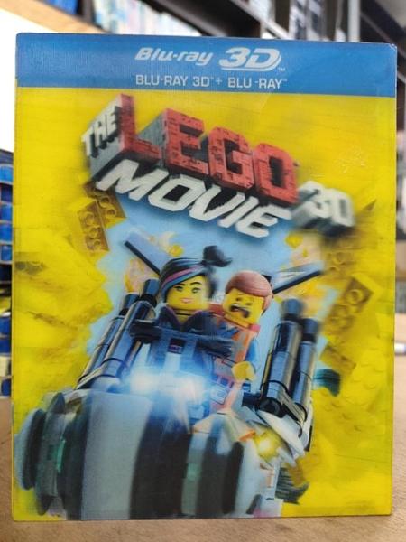 挖寶二手片-0139-正版藍光BD【樂高玩熱門電影 3D+2D雙碟版 附外紙盒】卡通動畫 LEGO(直購價)