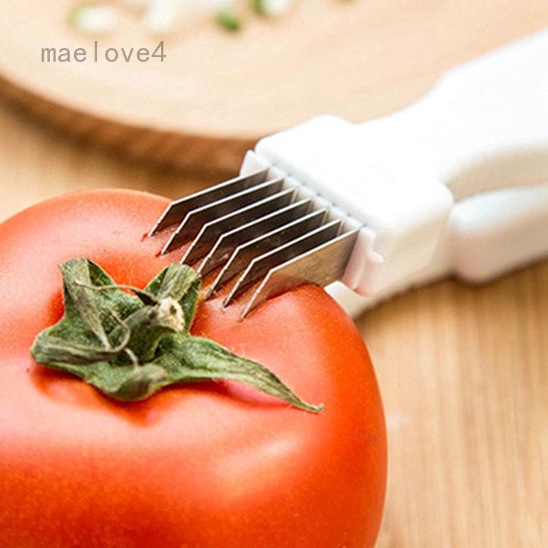 優質洋蔥Negi切菜切片機切菜刀不銹鋼刀片分類顏色:蔥切菜器工具:廚房和餐廳