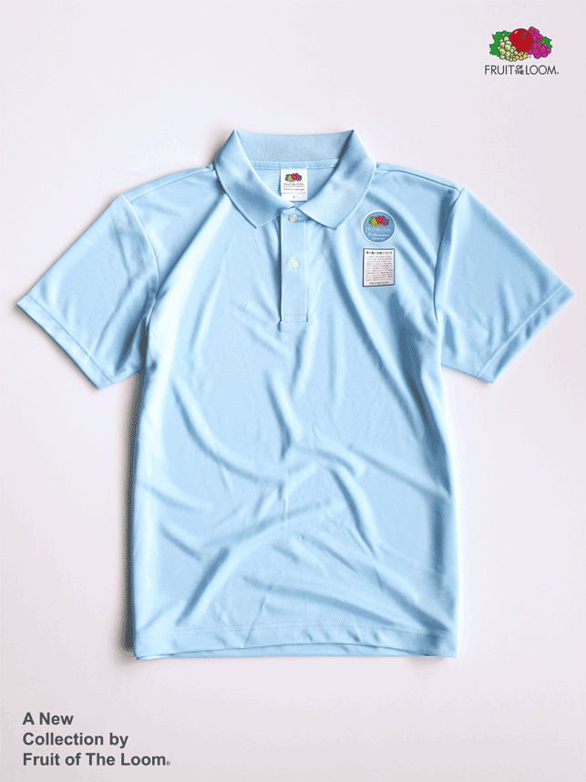 FRUIT OF THE LOOM 水果牌 - DYP9000 吸濕排汗 4.1OZ 短袖 POLO衫 (LB淺藍色)